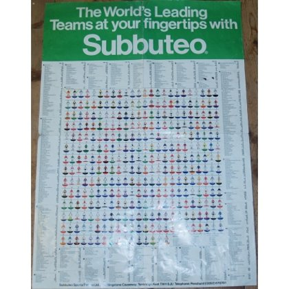 Poster : THE WORLD'S LEADING TEAMS