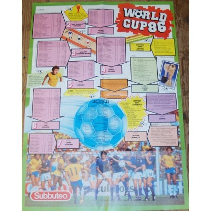 Poster : WORLD CUP 1986