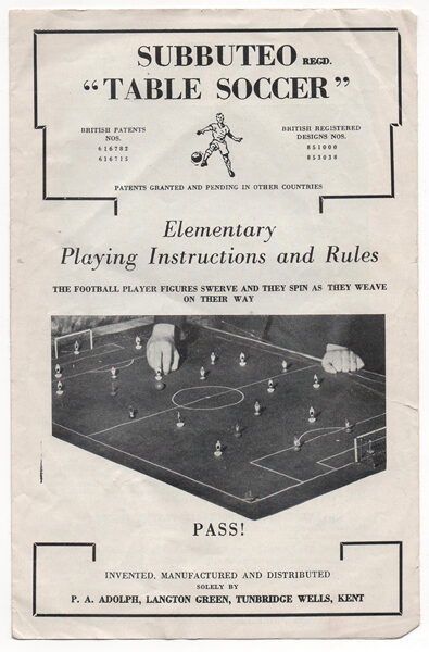 Rules : 1965