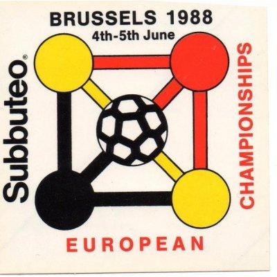 Sticker : EUROPEAN CHAMPIONSHIPS 1988